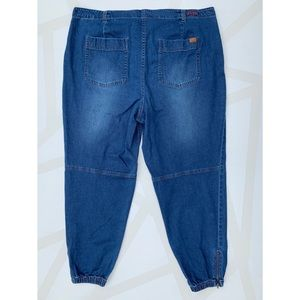 Peace Love World Jeans - Peace Love World Denim Jogger Jeans Ankle Zips 18W
